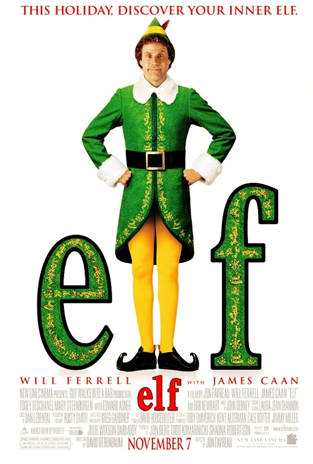 Penn Theatre Christmas Movies 2018 - elf